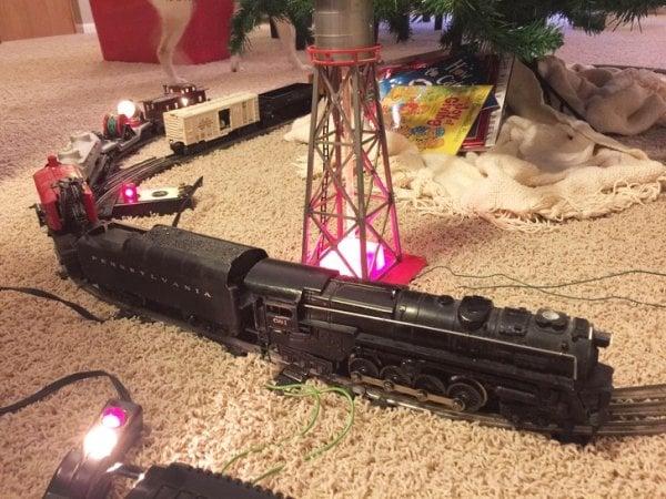 Objetos antiguos que aún sirven tren