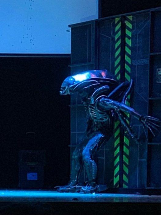 Obra de teatro Alien escena