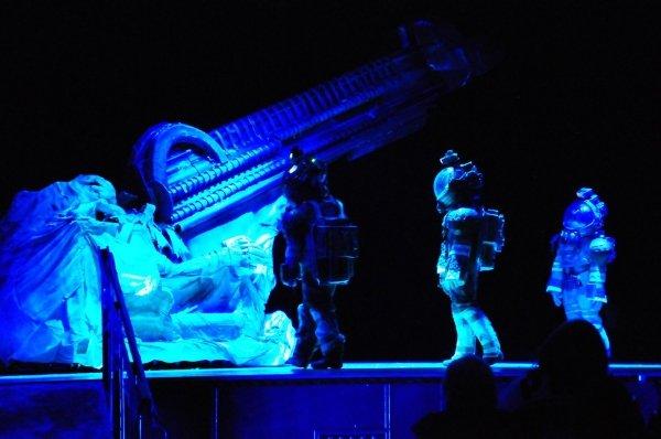 Obra de teatro Alien
