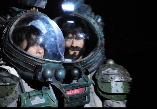 trajes espaciales de Obra de teatro Alien