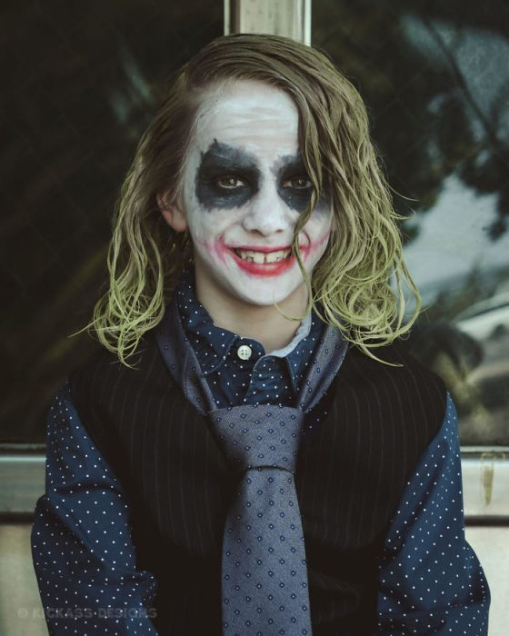 batman niño joker