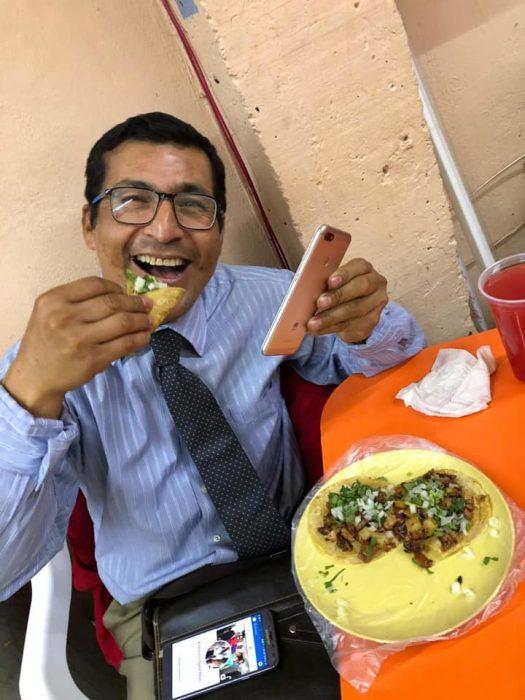 promoción huawei tacos