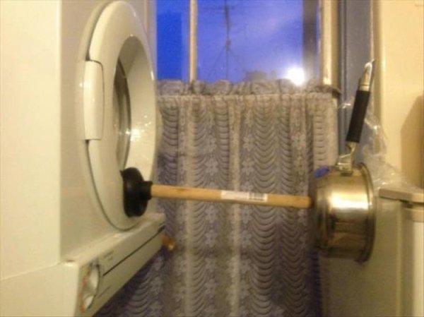 genios de bajo presupuesto lavadora