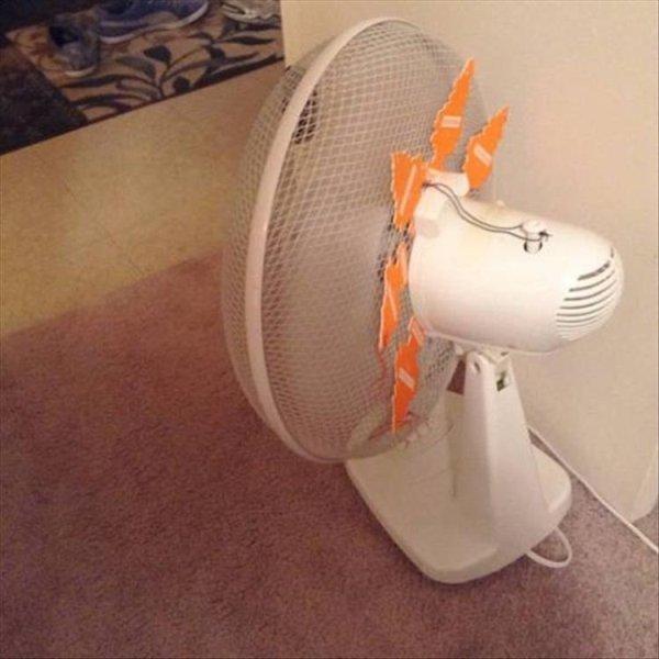 genios de bajo presupuesto ventilador