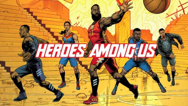 heroes among us adidas marvel