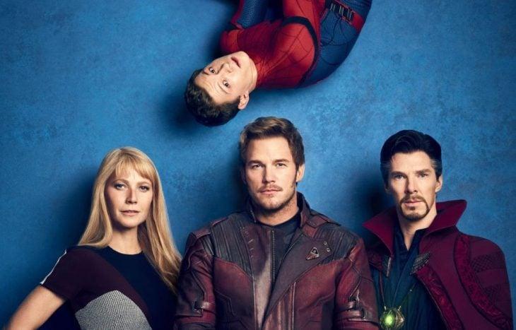 Reparto real de Avengers