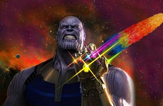 Thanos con elote