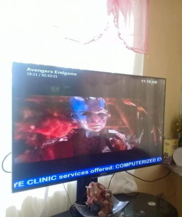 transmiten copia pirata de avengers endgame
