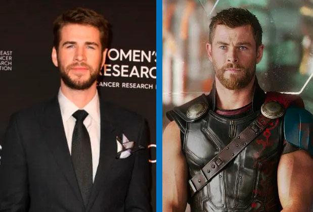 Liam Hemsworth como Thor