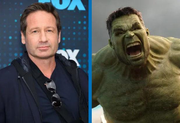 David Duchovny como Hulk