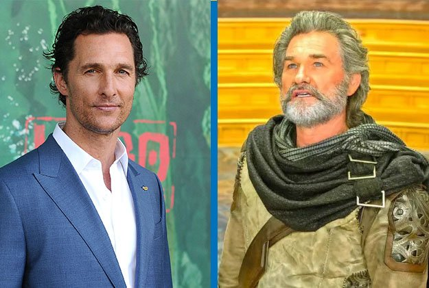 Matthew McConaughey como Ego