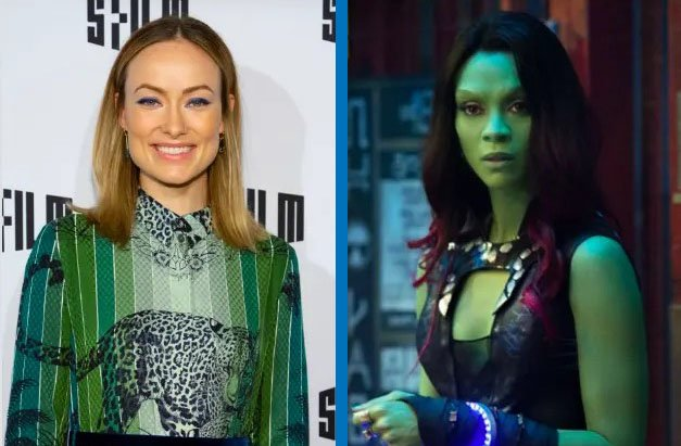 Olivia Wilde como Gamora