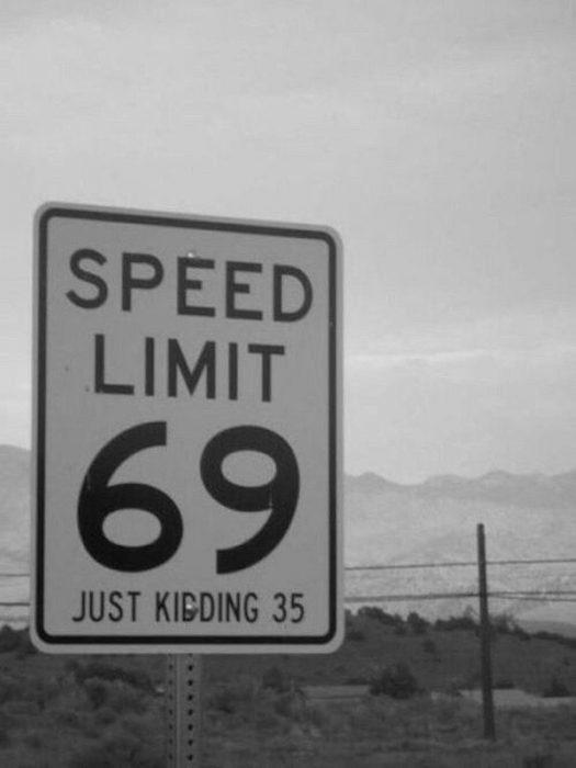 imágenes sin sentido l{imite velocidad