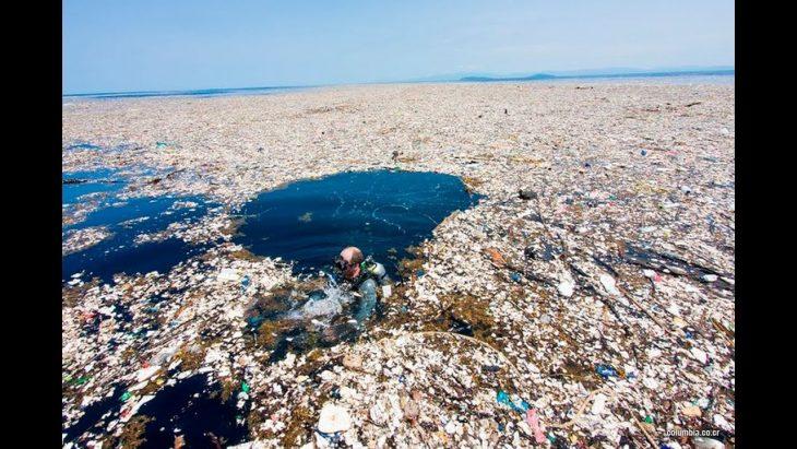 Isla plástico
