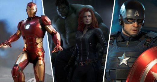 avengers videojuego