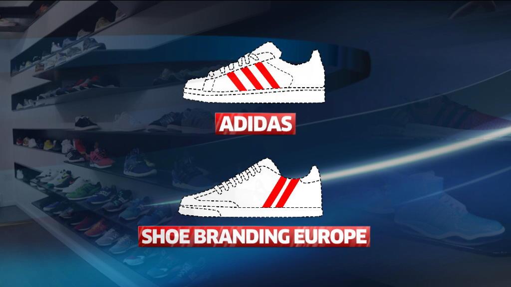 alma Encadenar pirámide  Adidas pierde la exclusividad de su distintivo logo