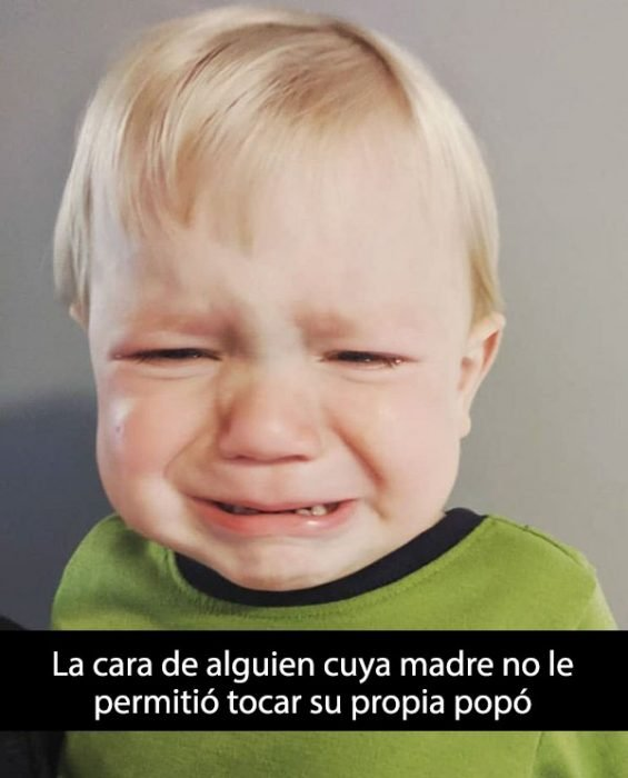 niños llorando