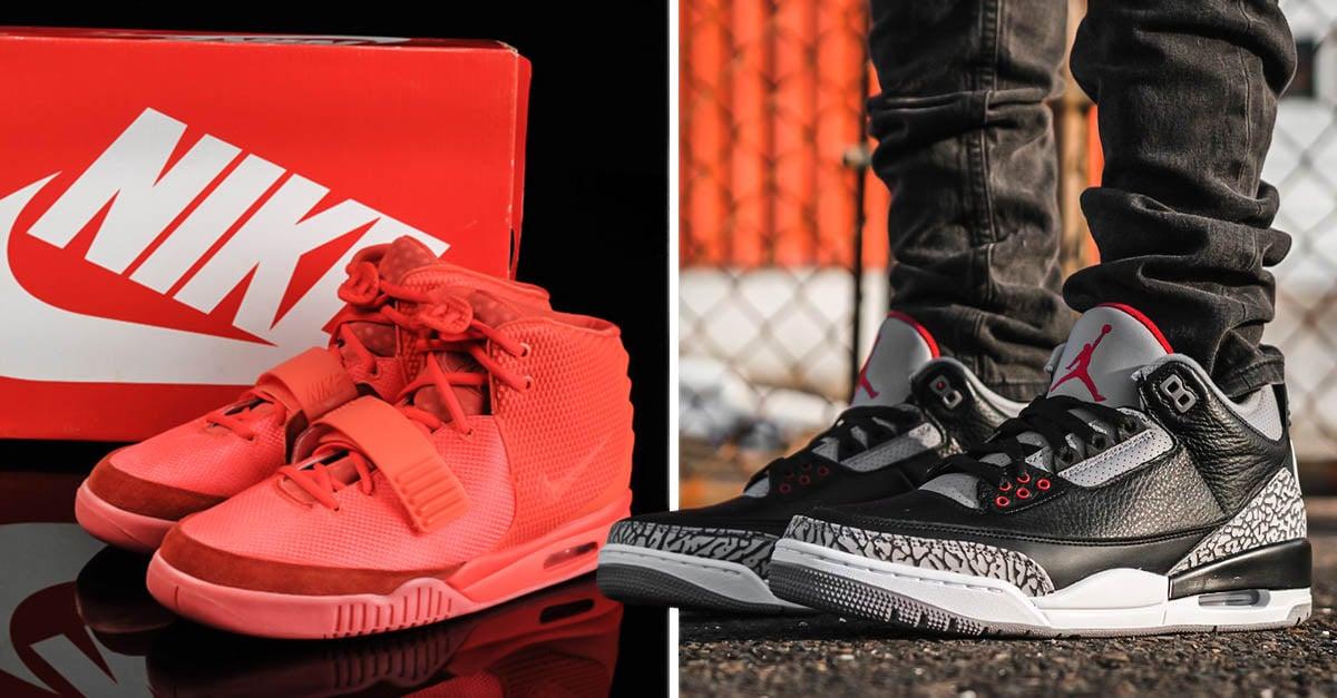Los 25 tenis Nike más caros de la historia; Jordan es el rey