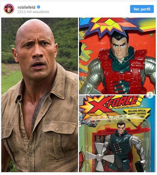 eninsta Dwayne 'The Rock' Johnson podría integrarse al Universo Cinematográfico #Marvel junto a #Deadpool