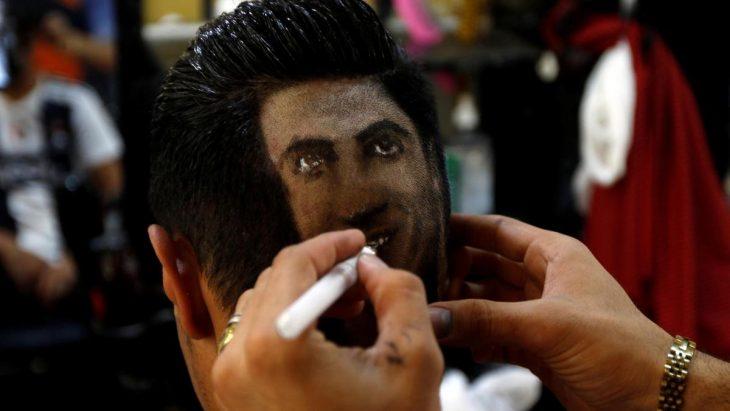 peluquero deportistas