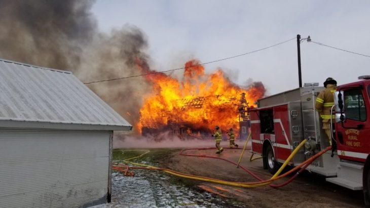 incendio departamento