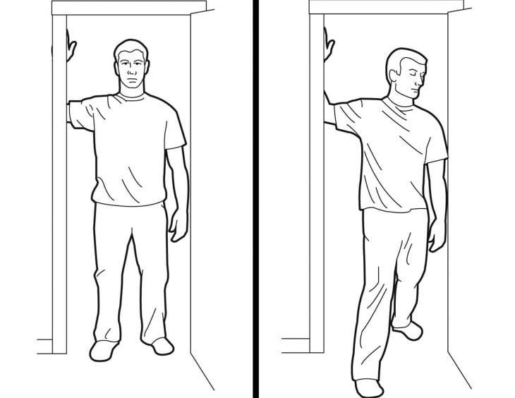 ejercicio de puerta