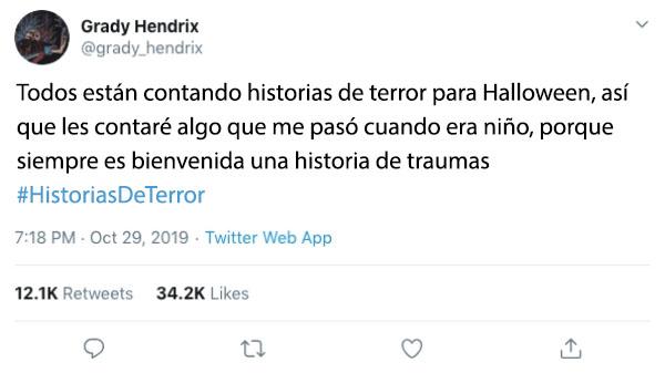 historia terror