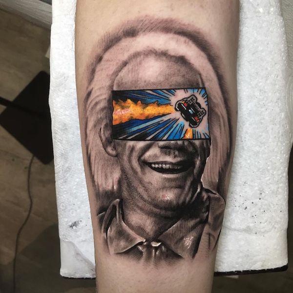 tatuajes reales y caricaturas