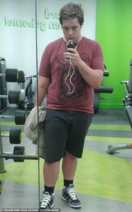 perdió peso por rechazo