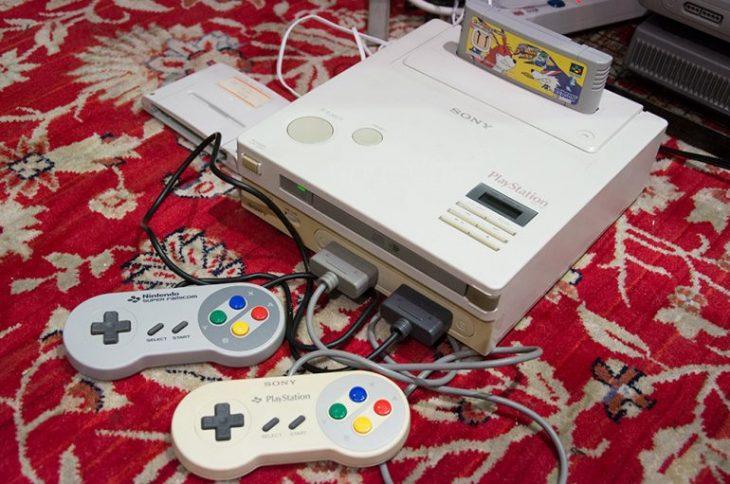 supoeniplay 730x484 Pondrán a la venta el prototipo de la consola Nintendo PlayStation; una rareza para coleccionistas