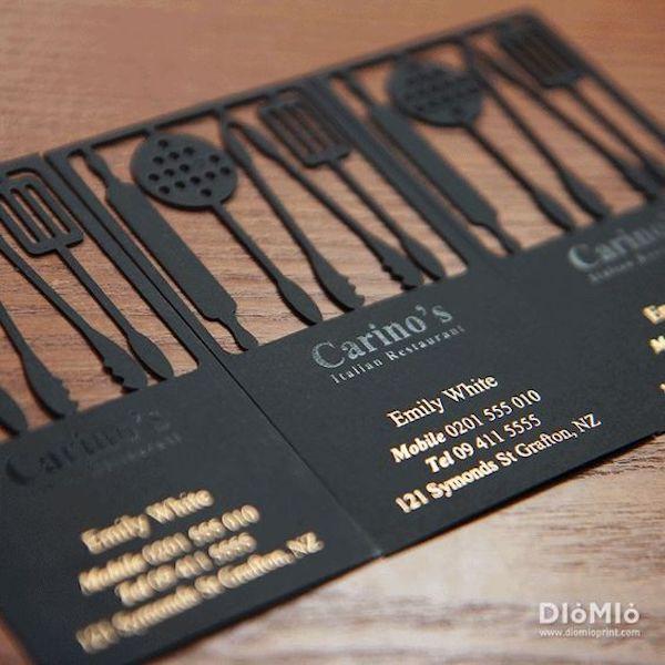 tarjetas de presentación