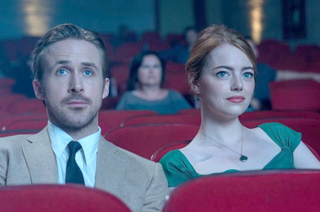 en el cine
