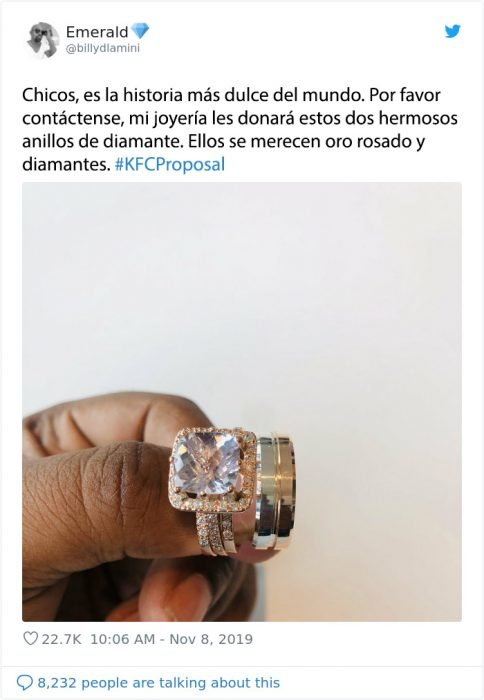 kfc propuesta anillos