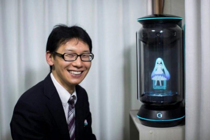 japonés holograma