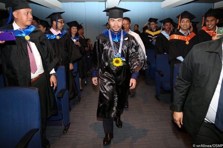 pacquiao graduación