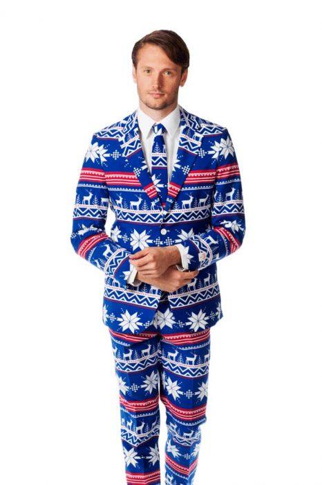 traje navideño