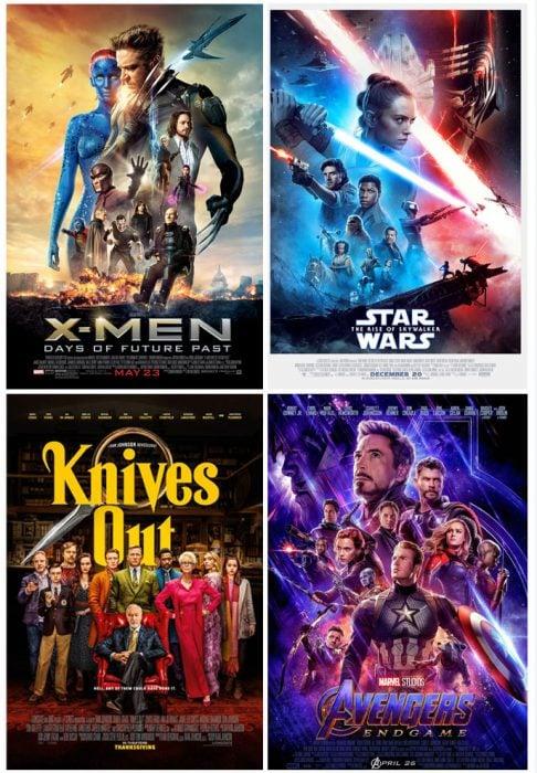 tipos de películas