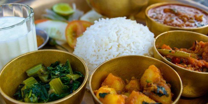comida nepal