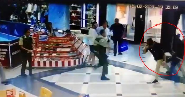 detiene a ladrón