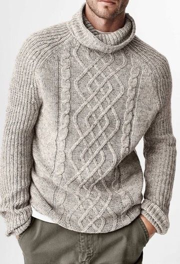 cuello suéter