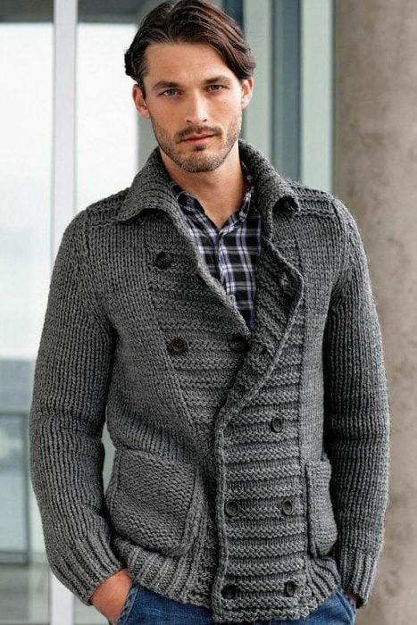 suéter de punto