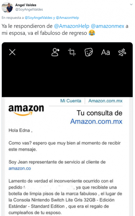fabuloso amazon