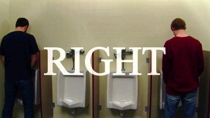 regla urinal