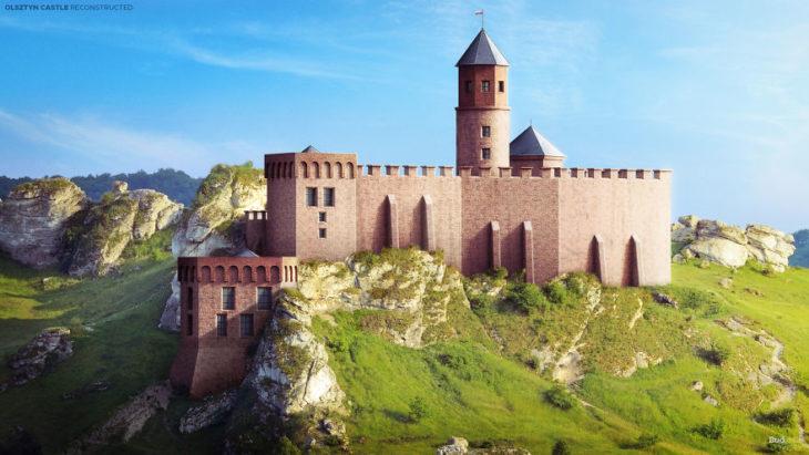 castillo reconstruido