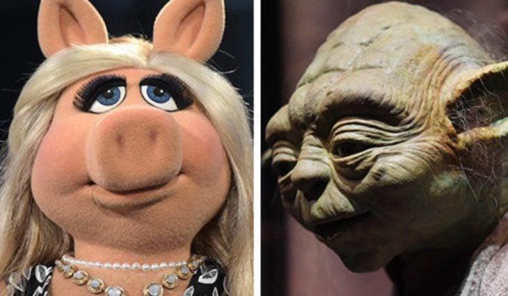 Yoda y Miss Piggy
