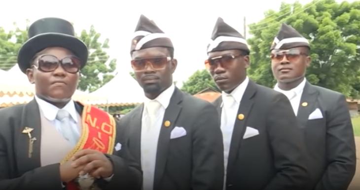 africanos ataúd