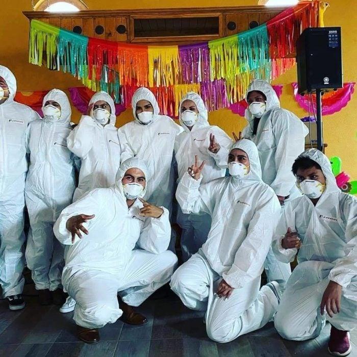 fiesta de coronavirus