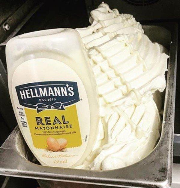 sabor a mayonesa