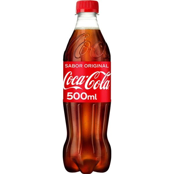Botella refresco