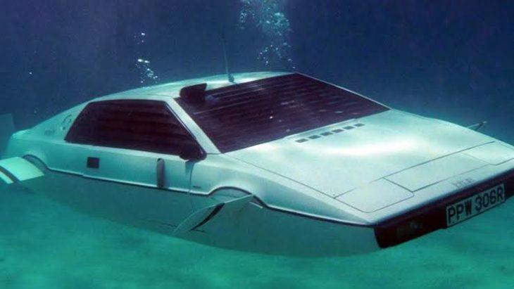 Coche submarino